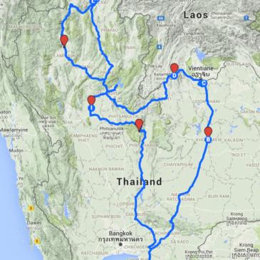 Ost- und Nordthailand Reise mit dem Auto