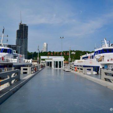 Pattaya – Hua Hin mit der Fähre