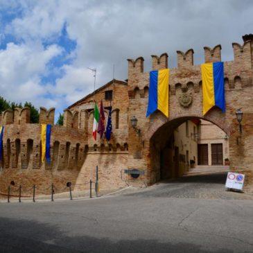 Corinaldo, Monte Murano in den 🇮🇹 Marken
